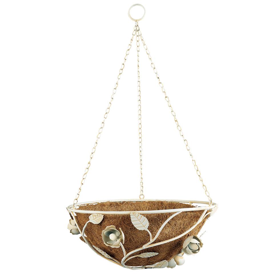 English Rose Hanging Basket