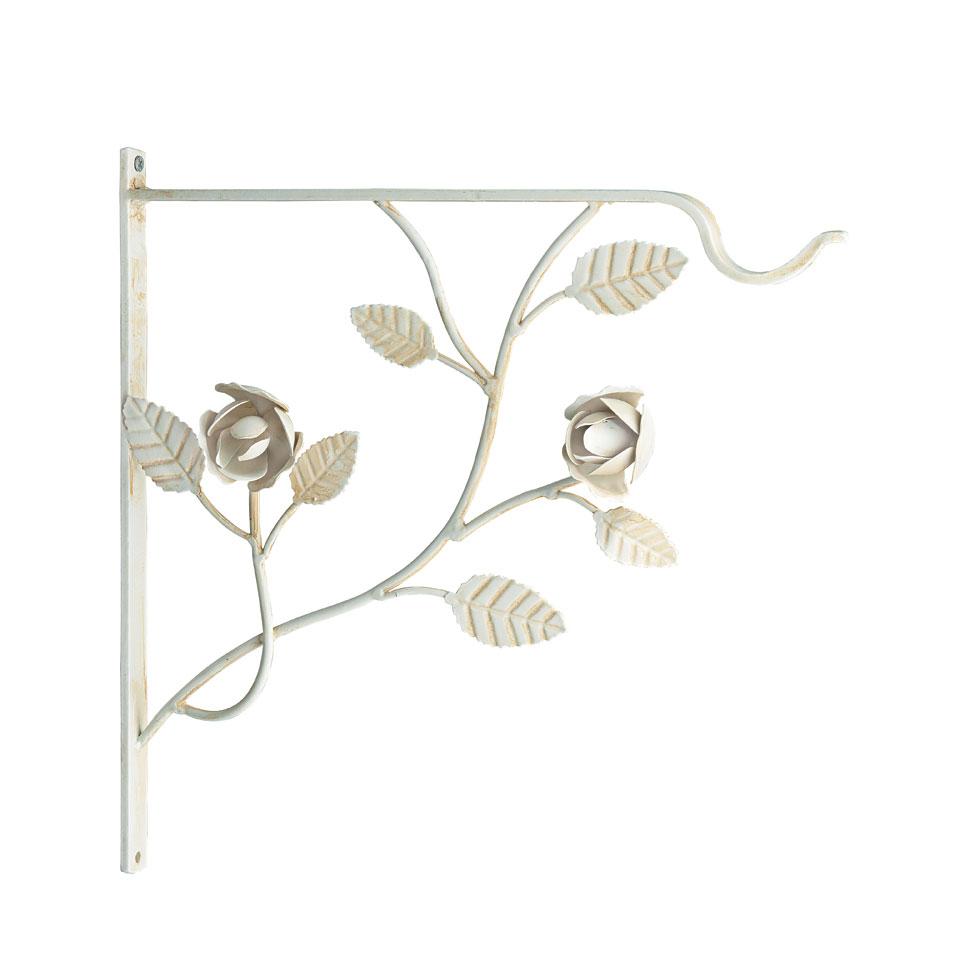 English Rose Hanging Basket Bracket
