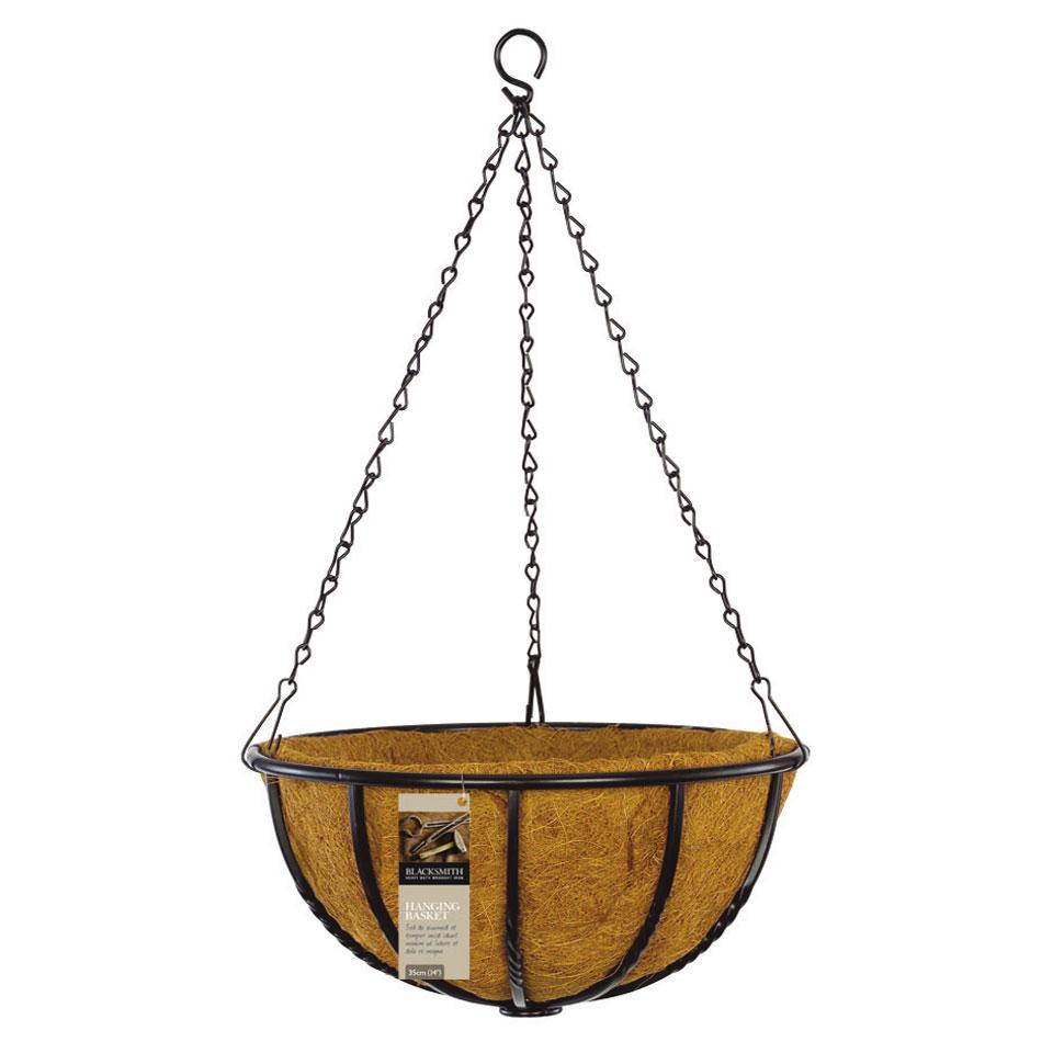 30cm Blacksmith Hanging Basket
