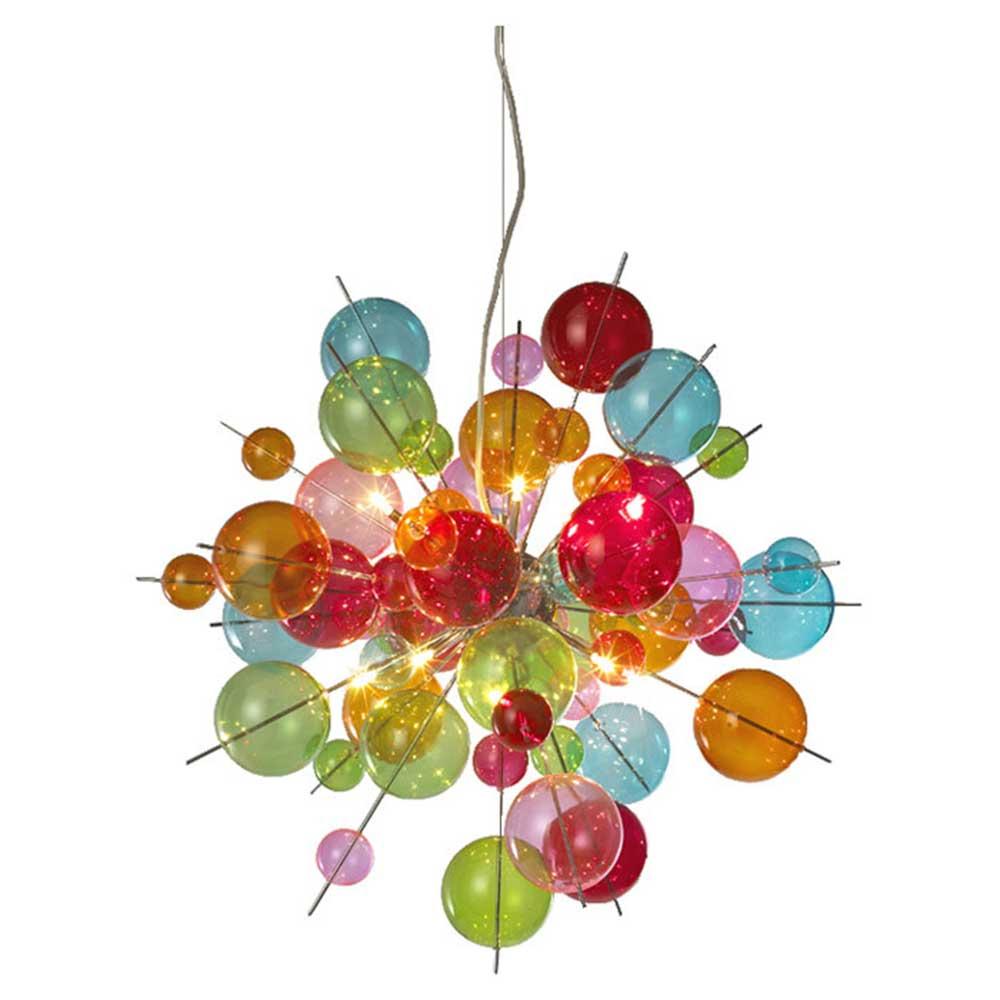 Multicolour Bauble Chandelier