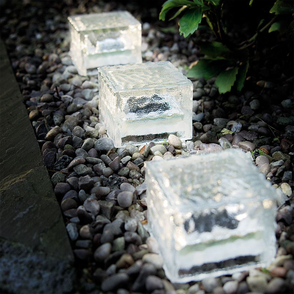 Ice Cube Solar Light