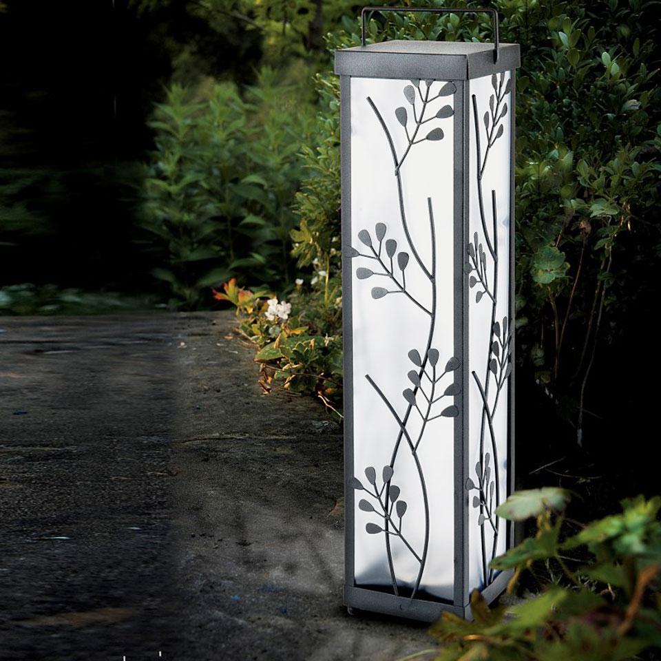 Solar Décor Floor Lantern