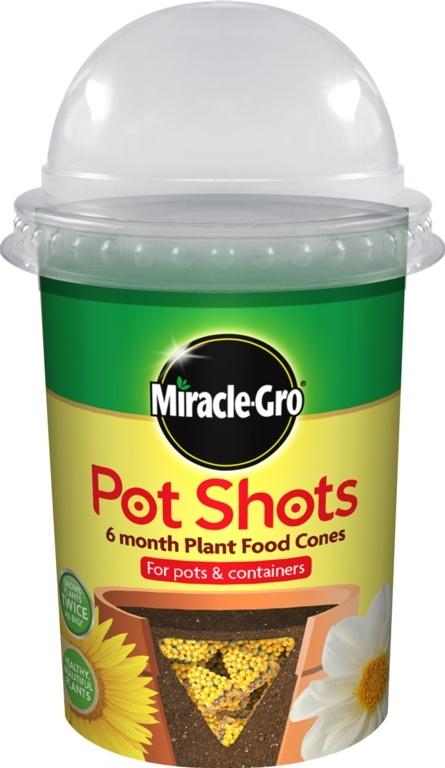 Image of Miracle-Gro Pot Shots 160g