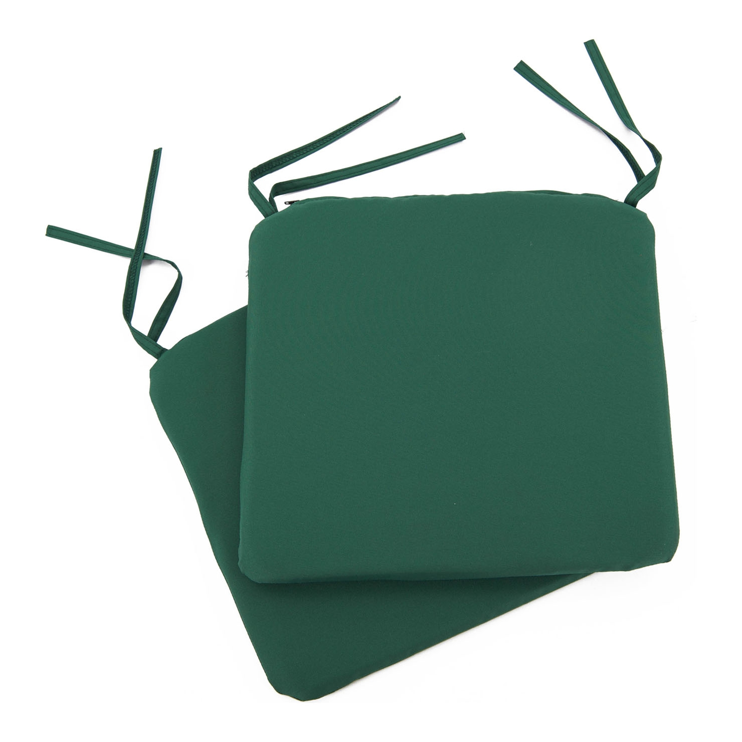 Image of Bistro Seat Pads (Green) Pack of 2