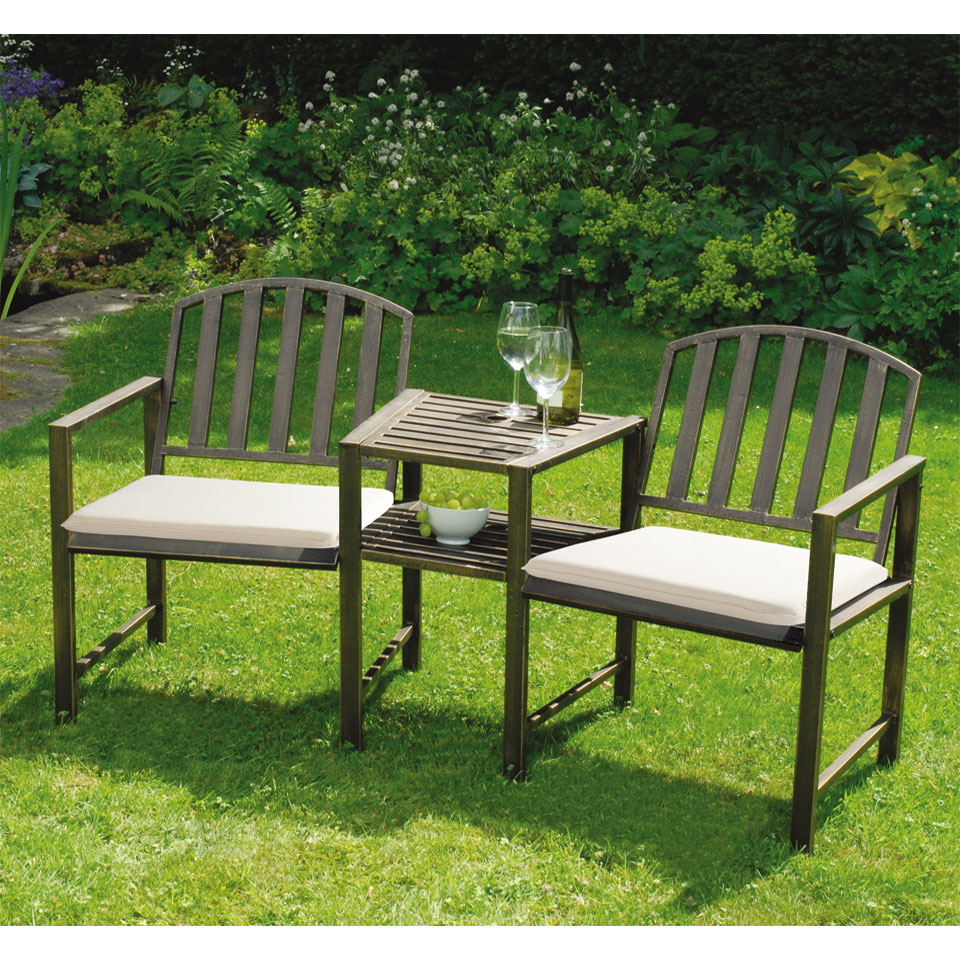 Chartwell Duo Bench & Table