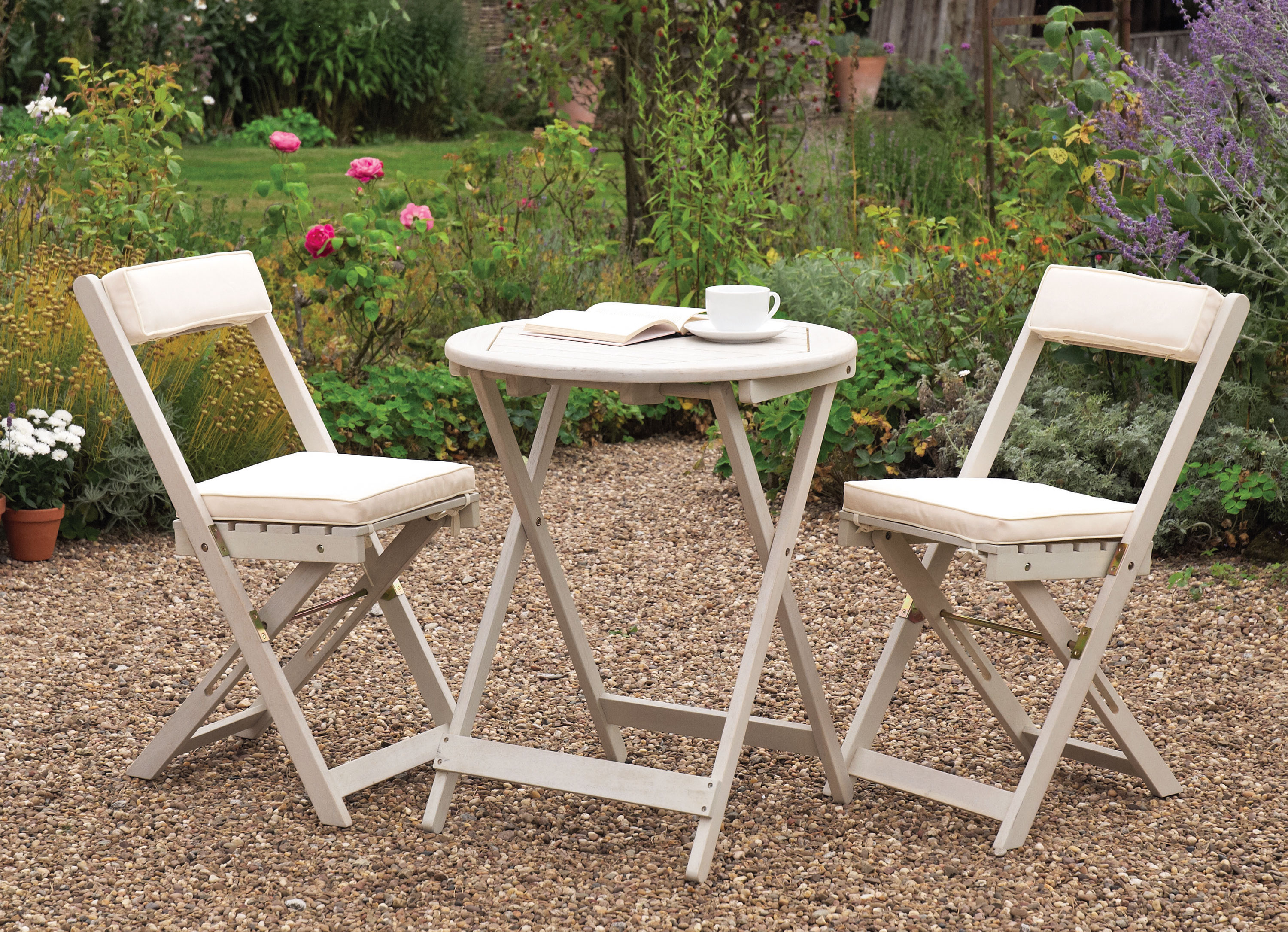 Buy cheap Hardwood patio set pare Sheds & Garden Furniture prices fo