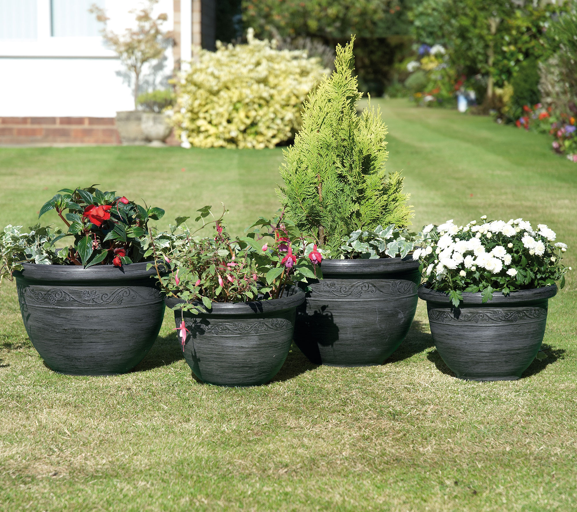 Pack of 4 Telford Planters