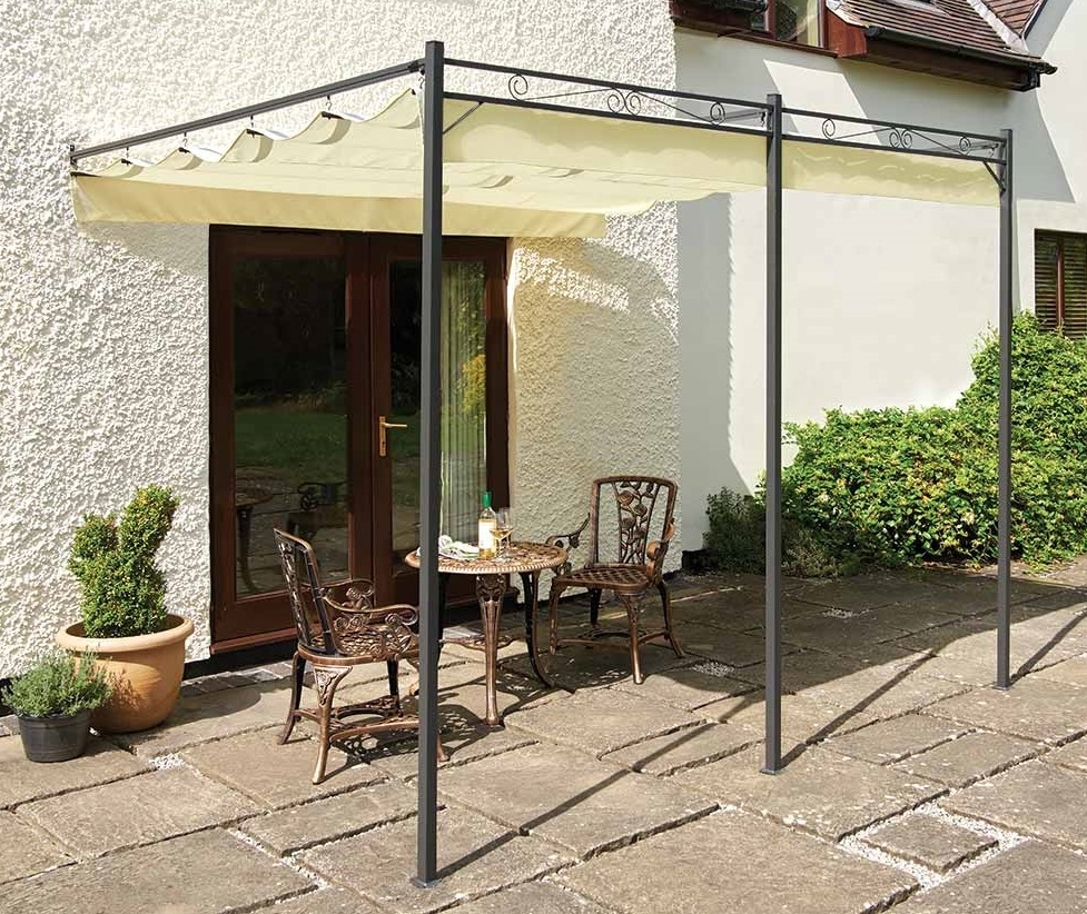 Image of Easy Fit Retractable Roof Gazebo
