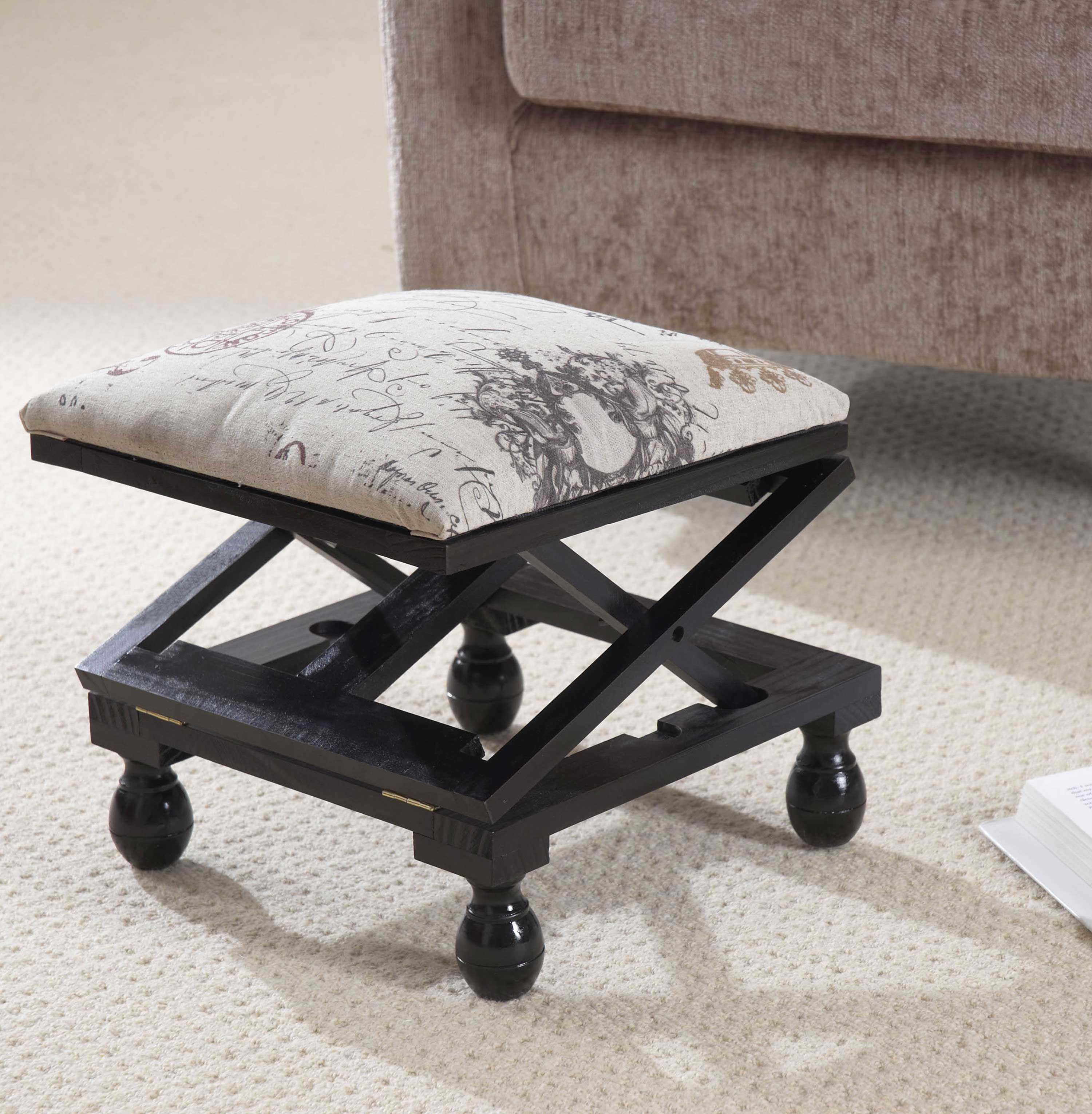 3-Position Footstool