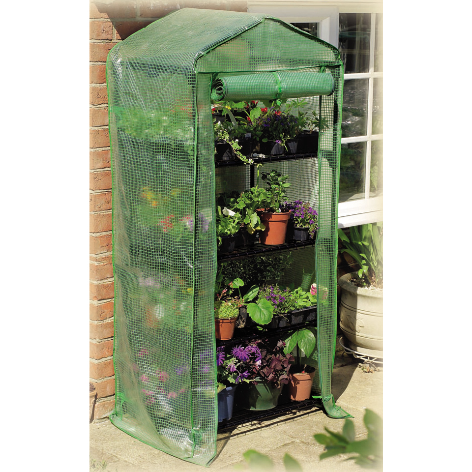 4 Tier Reinforced Compact Greenhouse