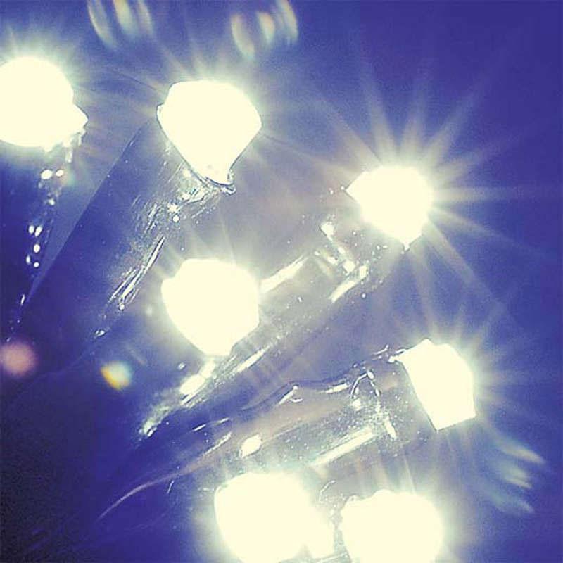 80 Static Warm White Indoor  LED Lights