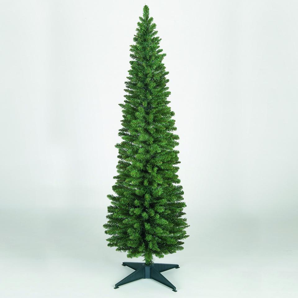 4ft Slim Pencil Pine Artificial Christmas Tree