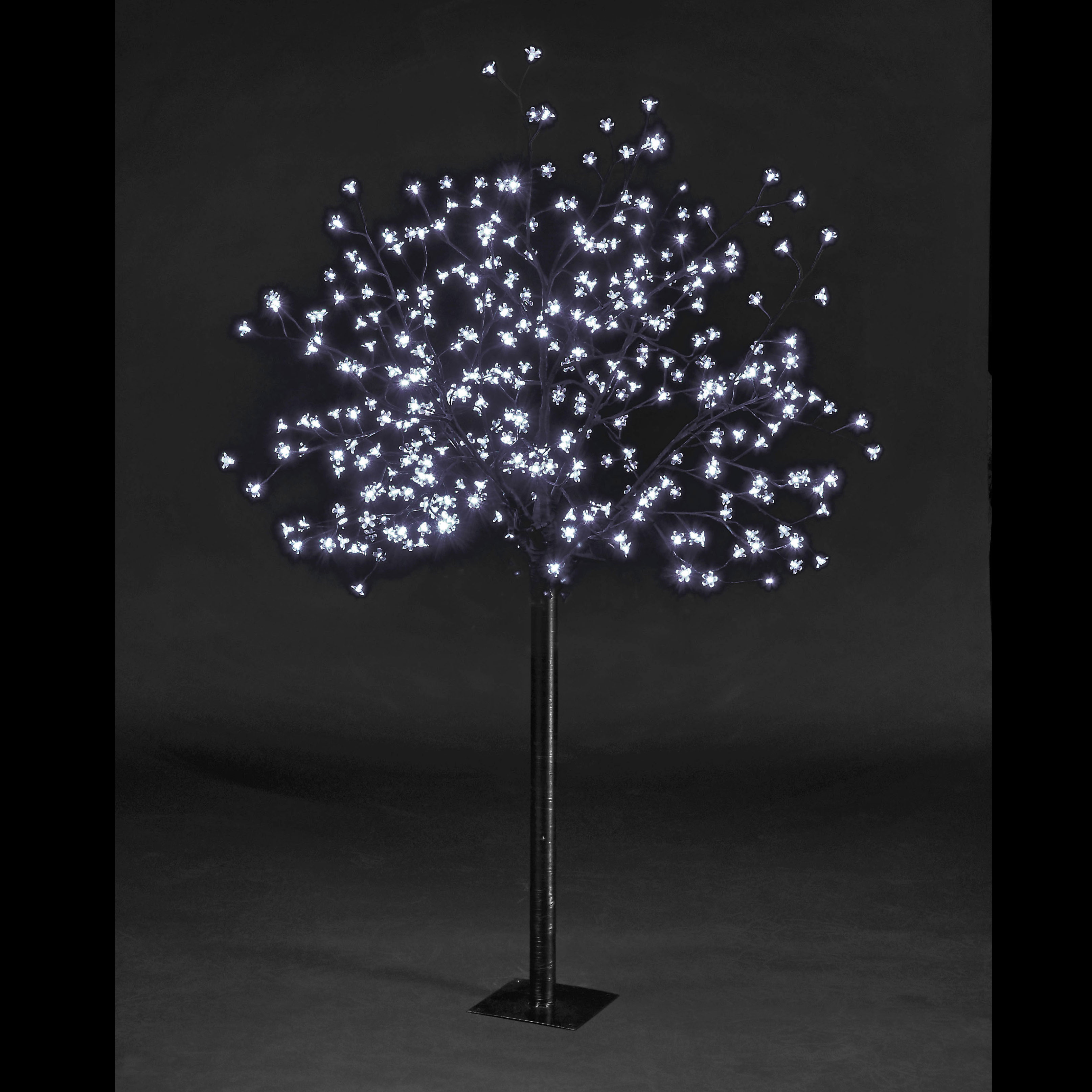 6ft Cherry Blossom Tree with 250 Ice White LEDs