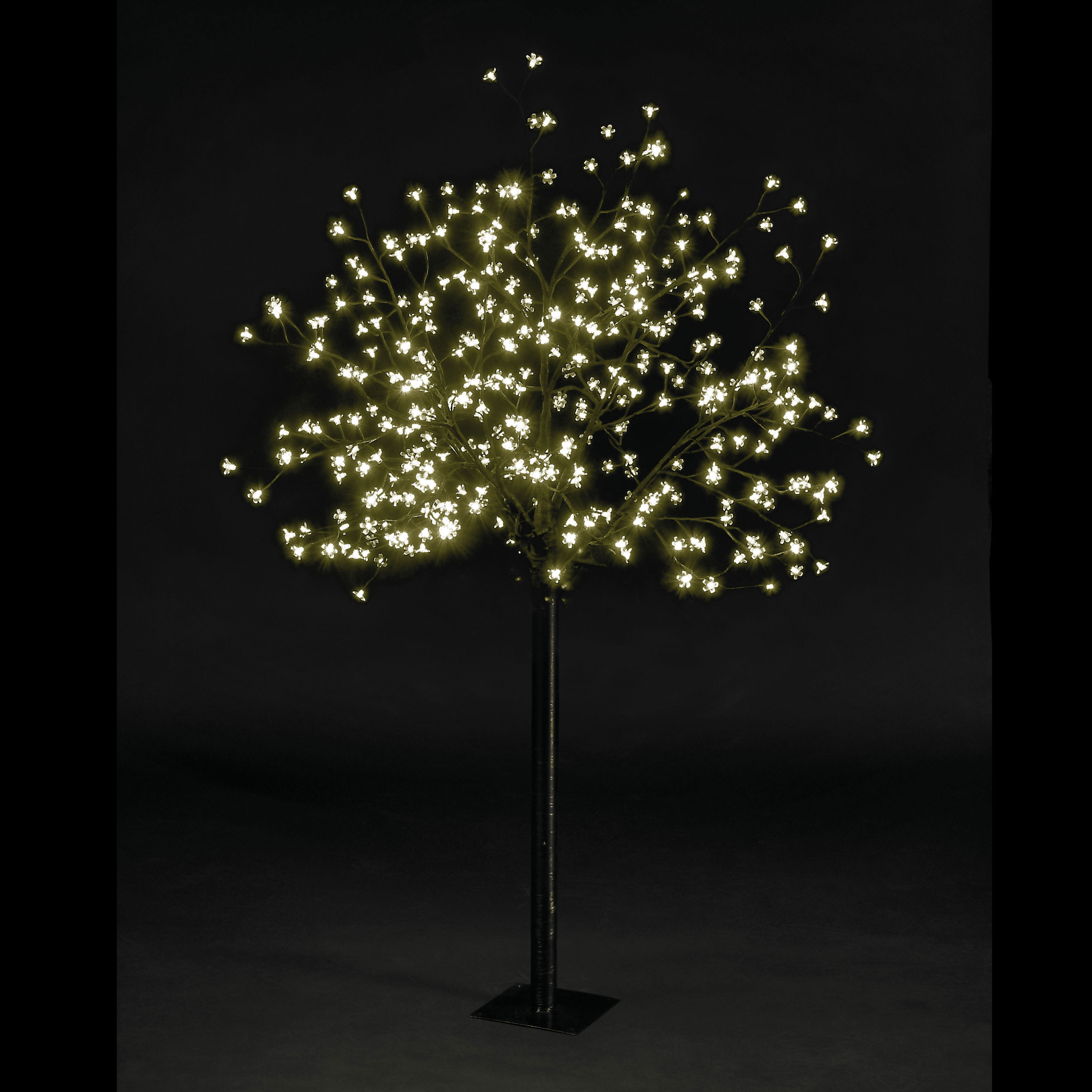 5ft Multi-Function Cherry Blossom Tree with 200 Warm White LEDs