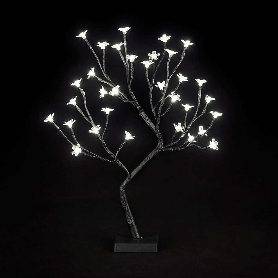 Battery Operated 18in/45cm Cherry Blossom Tree with 32 Warm White LEDs