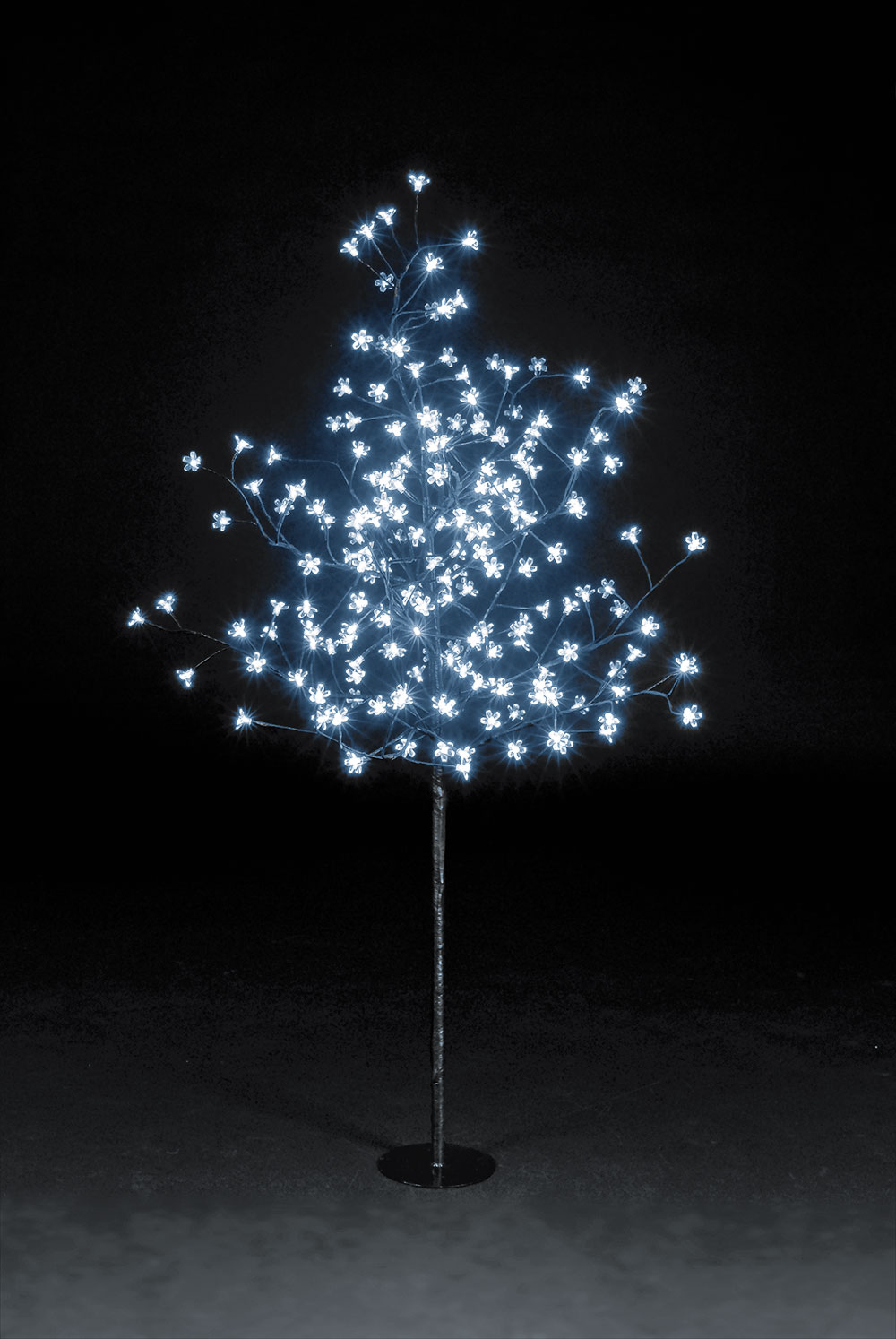 5ft Multi-Function Cherry Blossom Tree - 200 Ice White LEDs