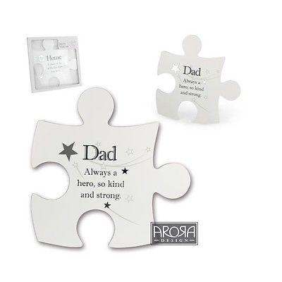 Said with Sentiment 'Dad' Jigsaw Wall Art