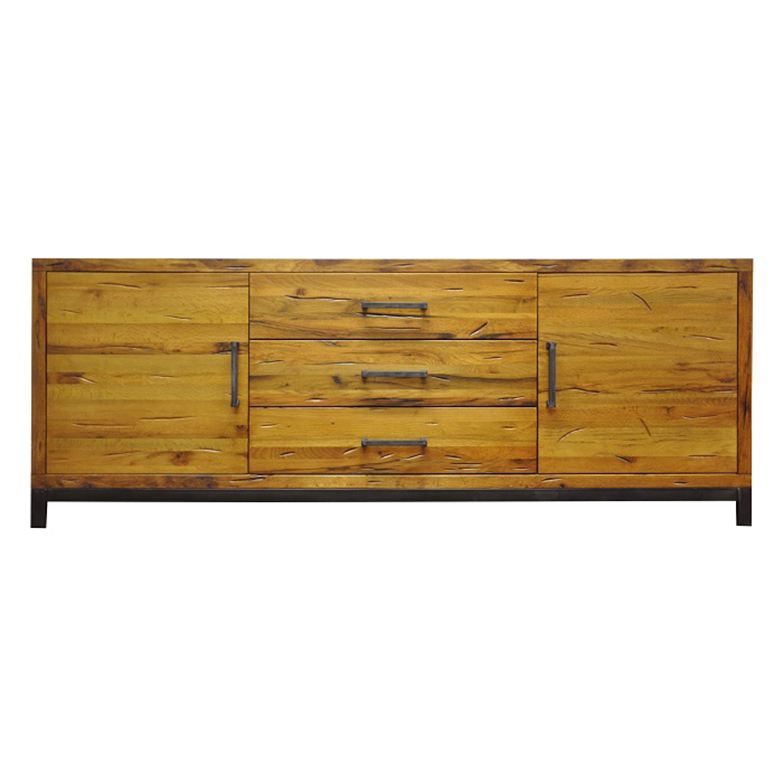 soho 2 door 3 drawer sideboard