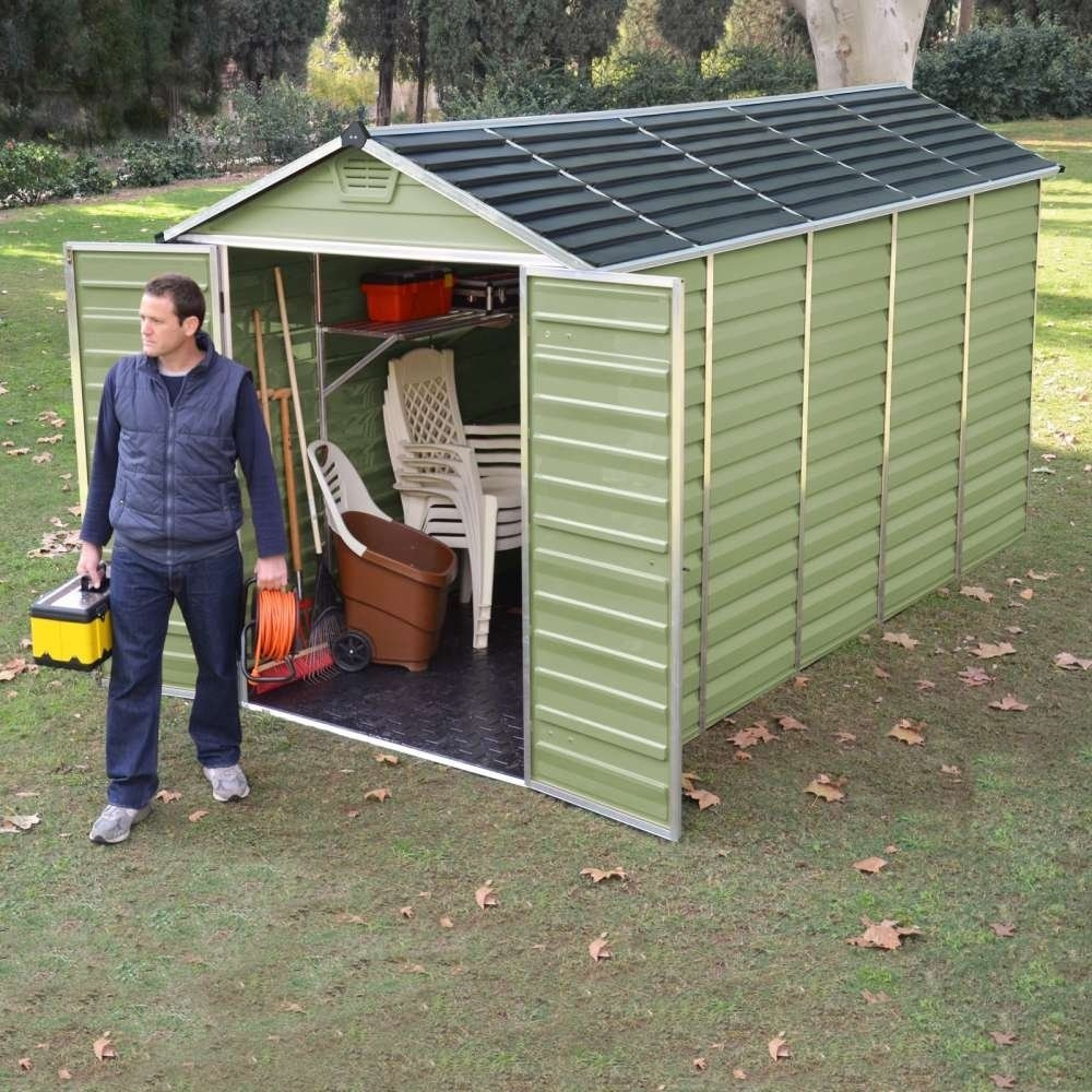 Plastic Shed 12 x 6