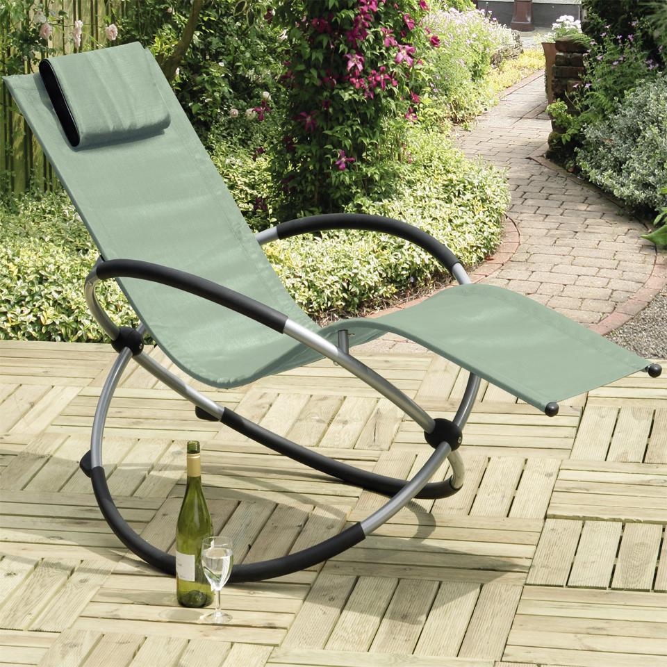 Orbit Avocado Relaxing Rocking Chair