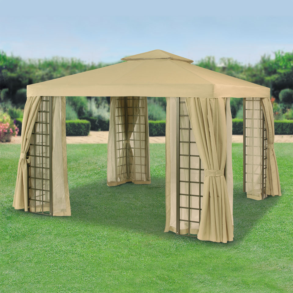 Replacement Roof Canopy for Suntime Barbados 3m  Beige Gazebos