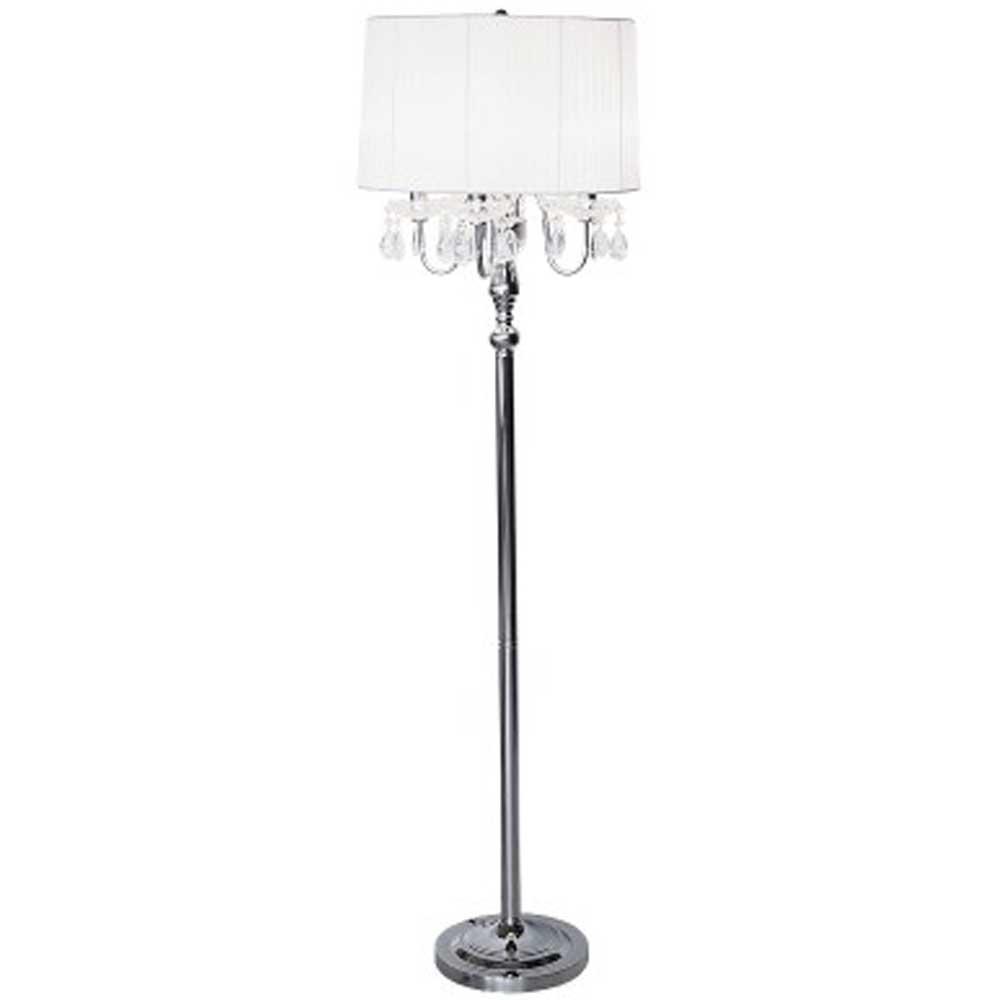 Beaumont Four Light Floor Lamp (White)