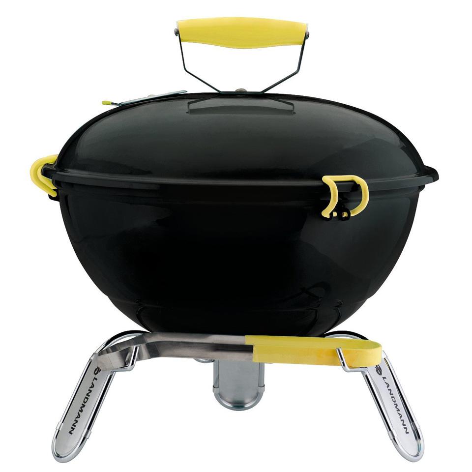 Piccolino Black Tabletop Barbecue