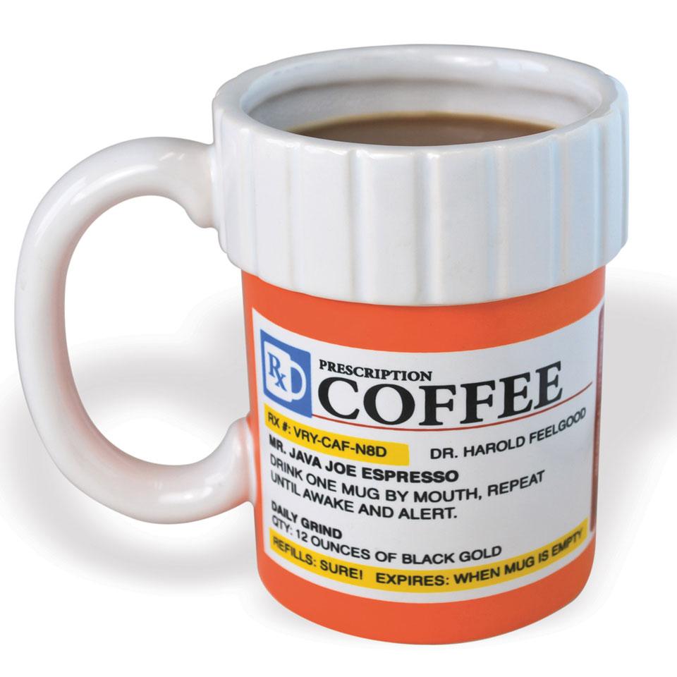 Big Mouth Prescription Coffee Mug
