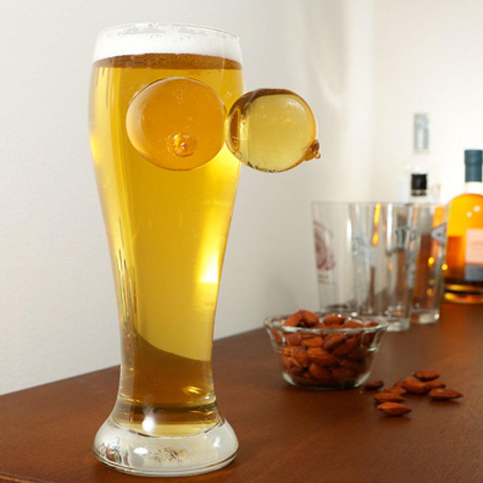 Image of Novelty Boobie Pint Glass