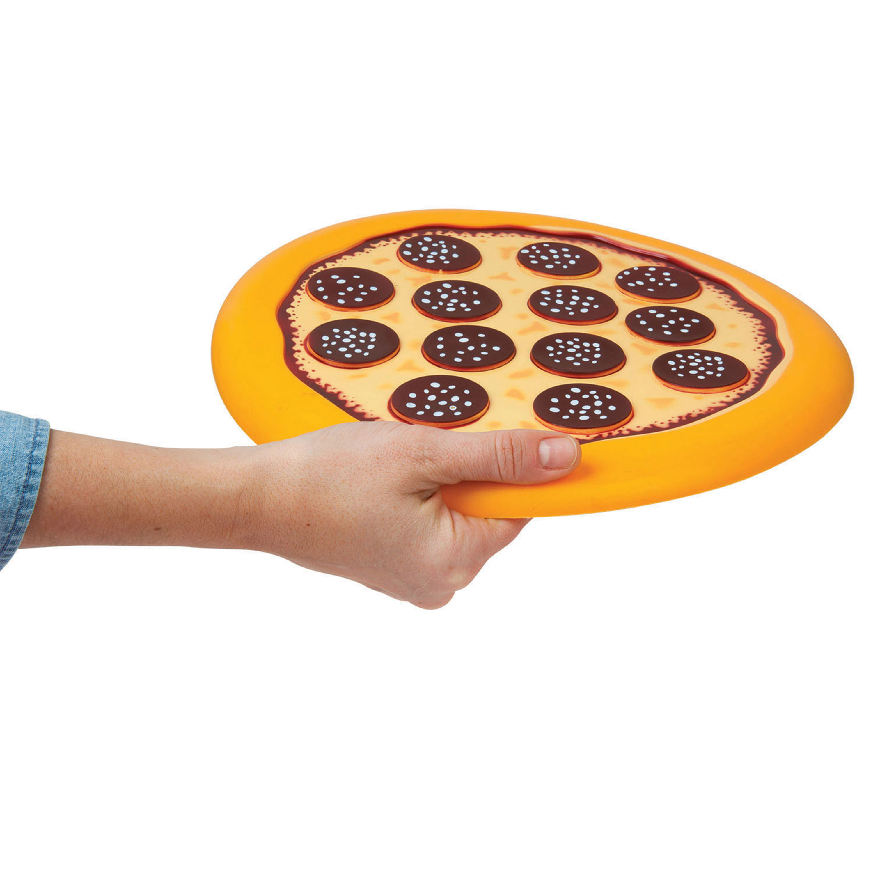Pass the Pizza Frisbee