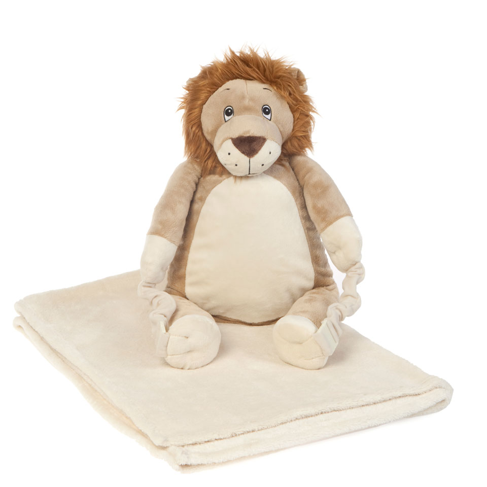 Bobo Buddies Roary The Lion Blanket Backpack
