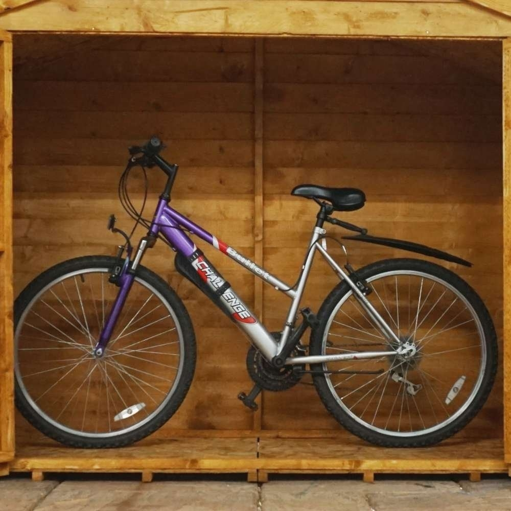 Image of 3' x 6' Overlap Pent Bike Store