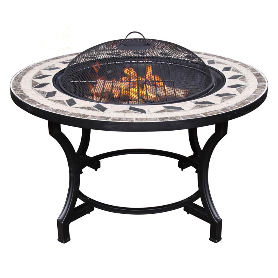 Helios Mosaic Barbecue & Fire Bowl