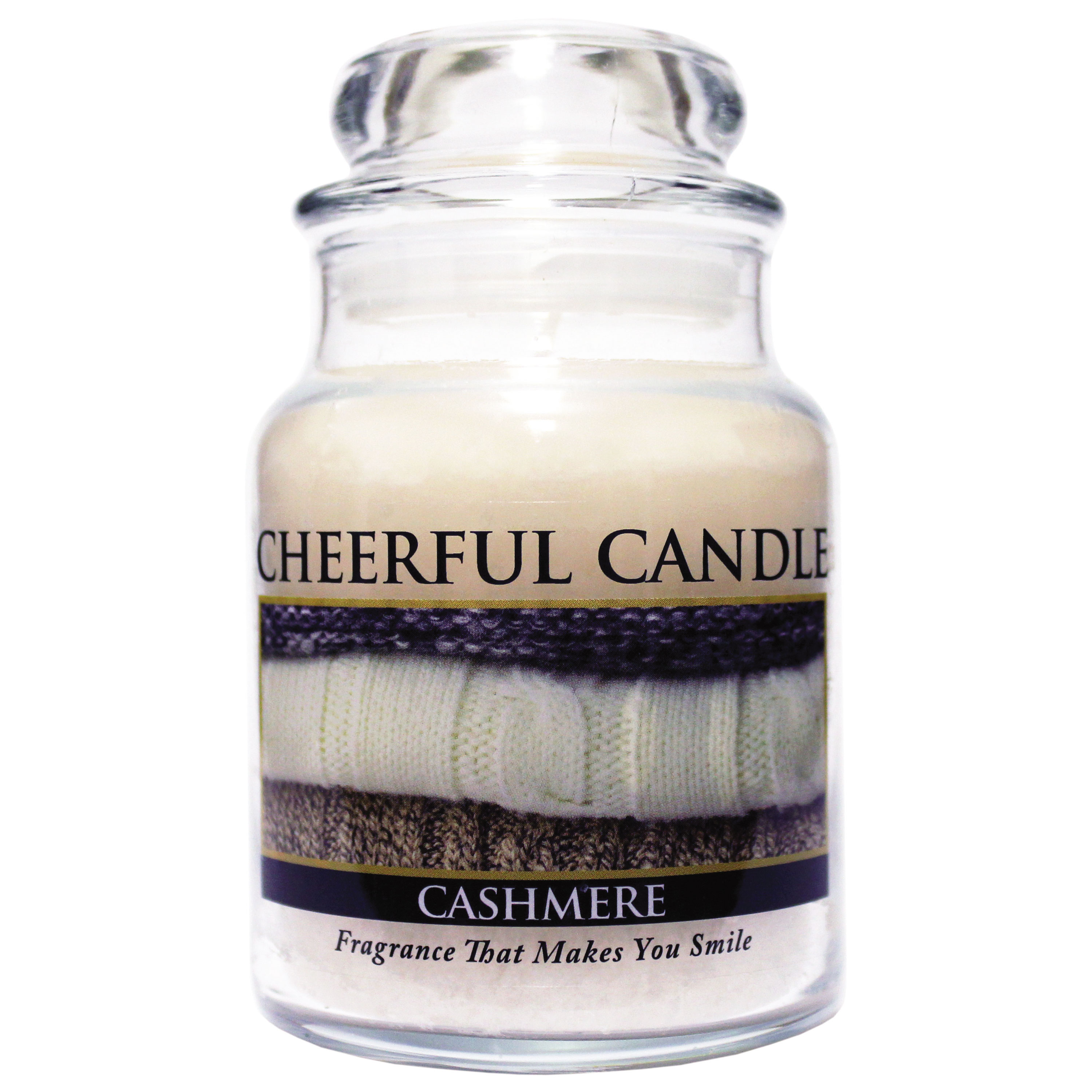 Cashmere 6oz Cheerful Candle