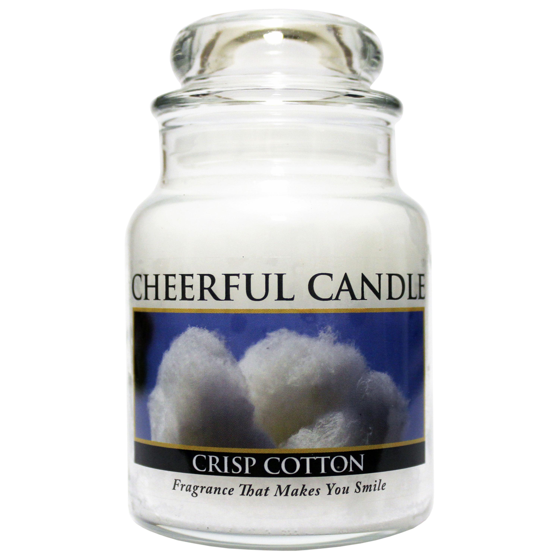 Crisp Cotton 6oz Cheerful Candle