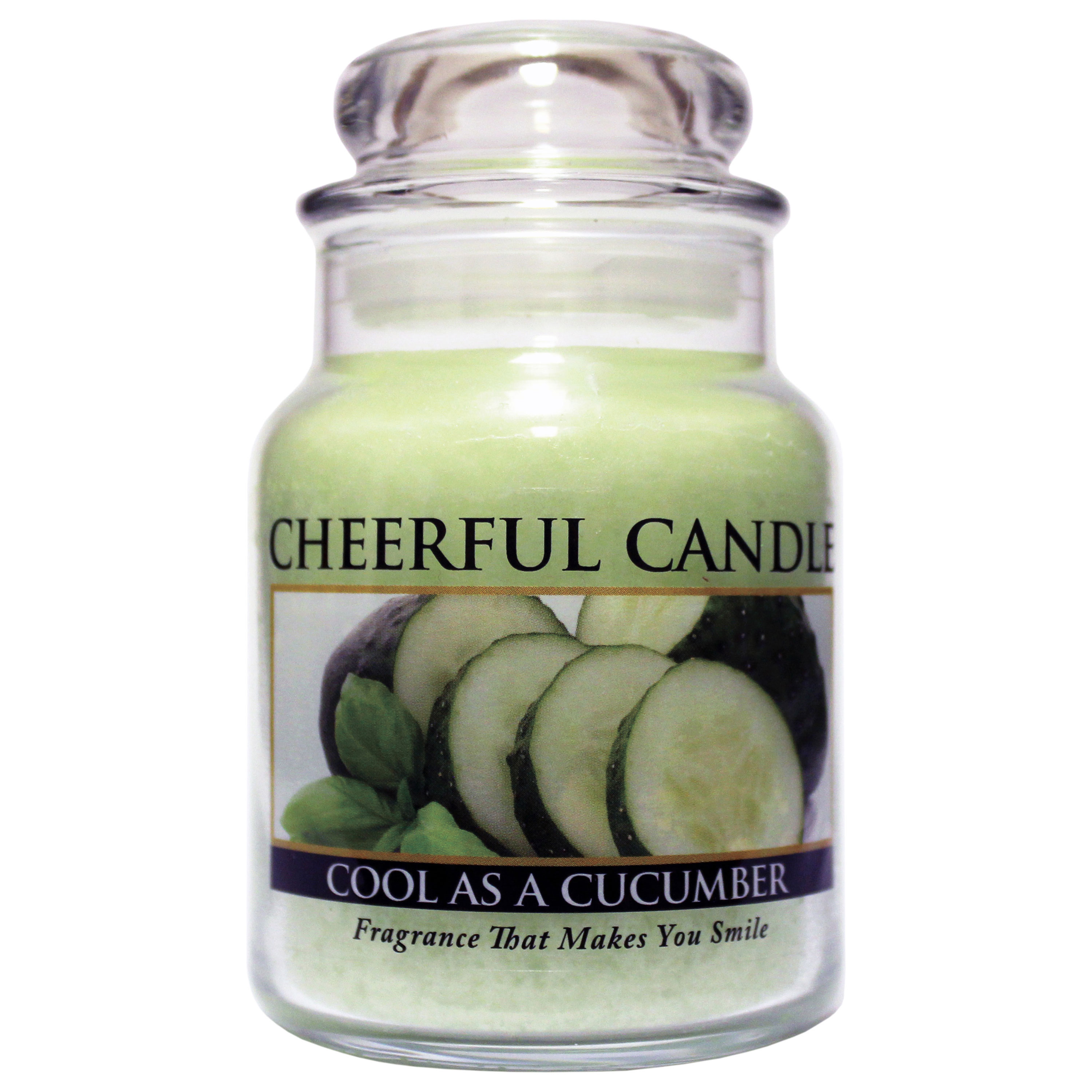 Cool as a Cucumber 6oz Cheerful Candle