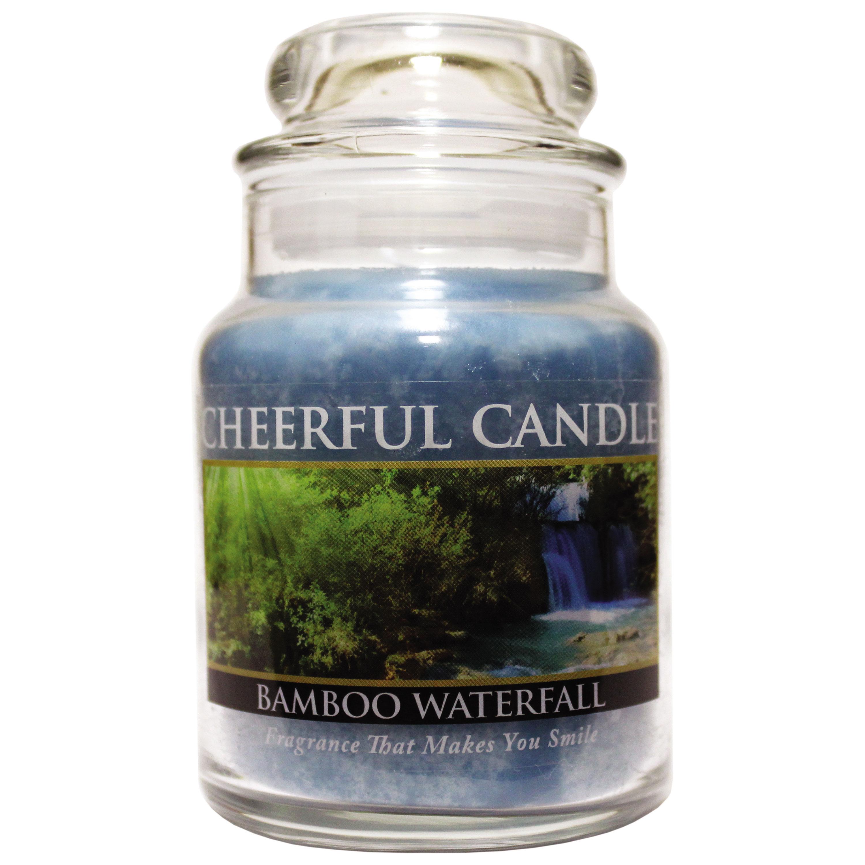 Bamboo Waterfall 6oz Cheerful Candle