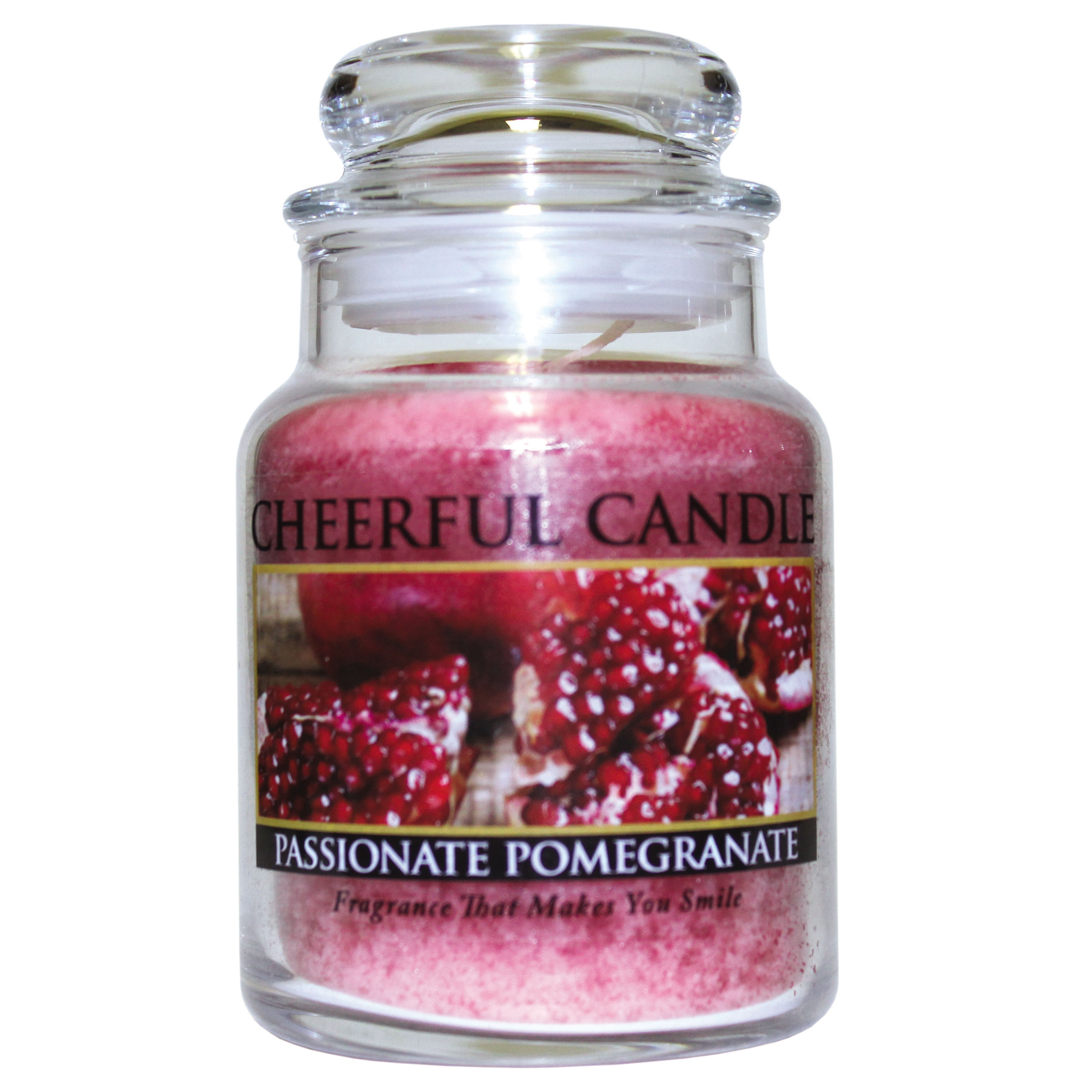 Passionate Pomegranate 6oz Cheerful Candle