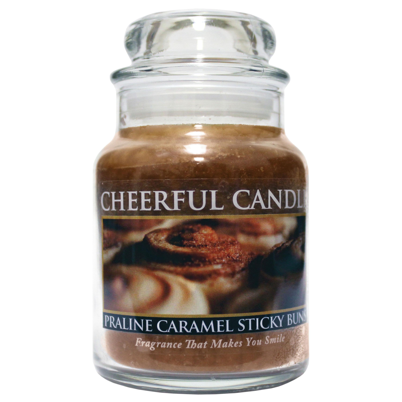 Praline Caramel Sticky Buns 6oz Cheerful Candles