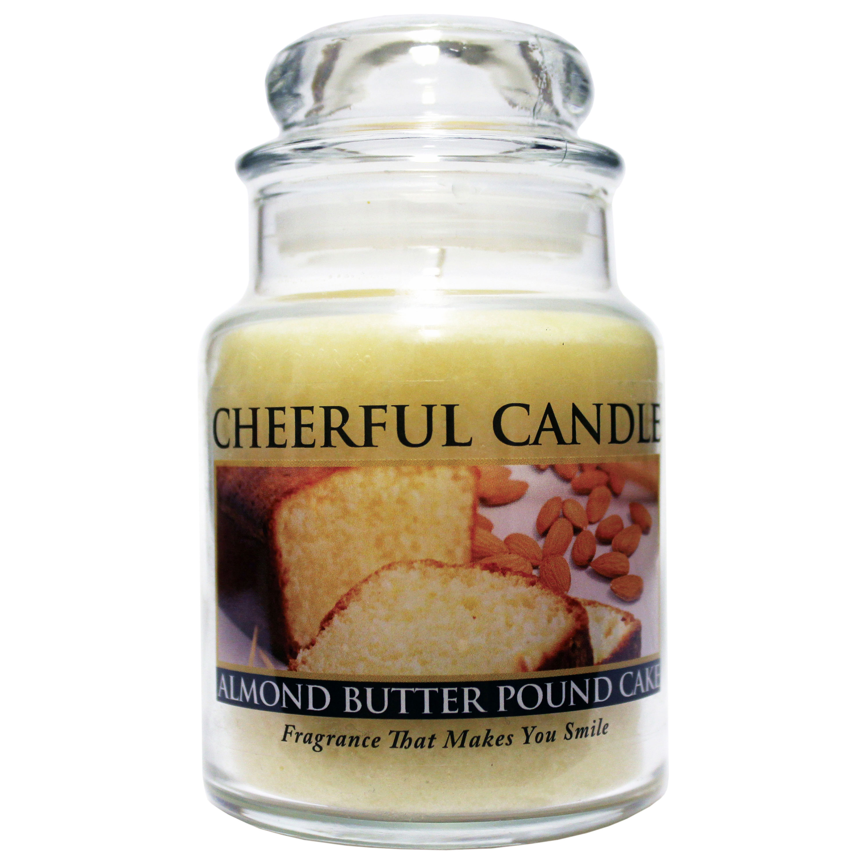 Almond Butter Pound Cake 6oz Cheerful Candle
