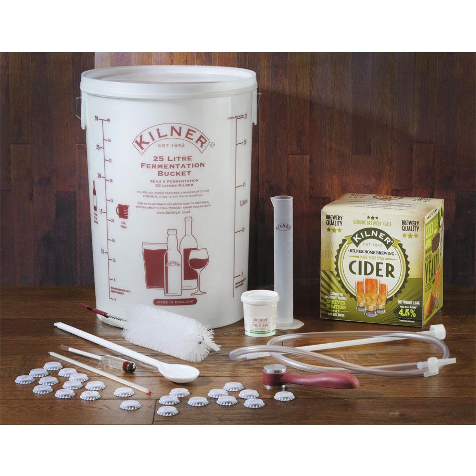 Kilner Complete Make Your Own Cider Kit