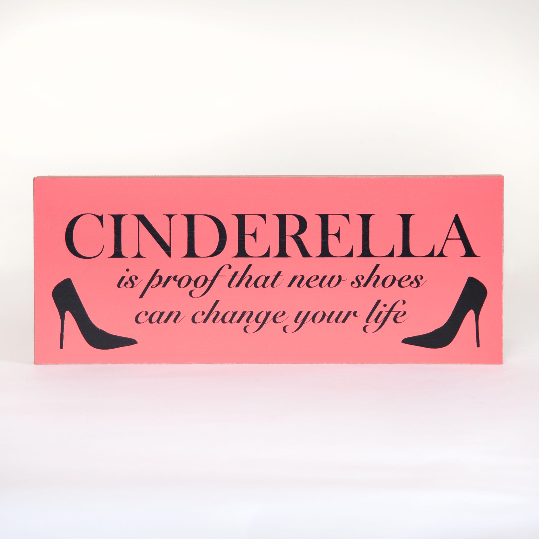 Cinderella Wall Sign
