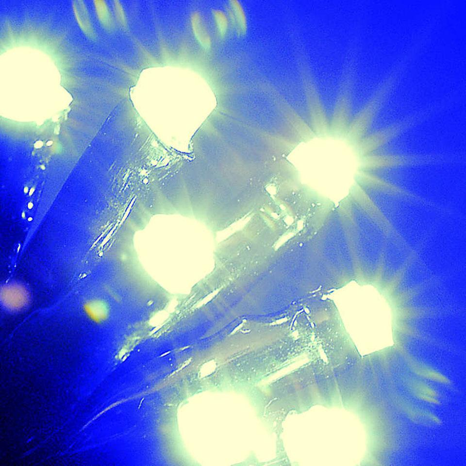 600 Warm White Super-Long LED Chaser Lights