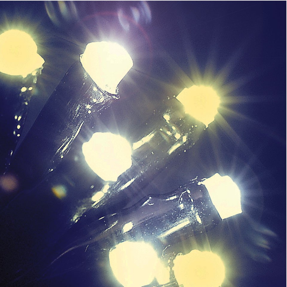 480 White & Warm White Mixed LED Chaser lights with Memory Function