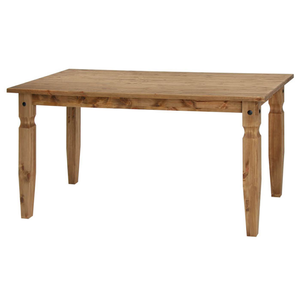 Cortez Solid Pine 150cm  Dining Table