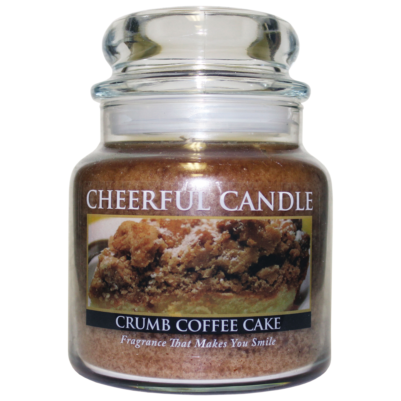General Furniture Crumb Coffee Cake 16oz Cheerful Candle