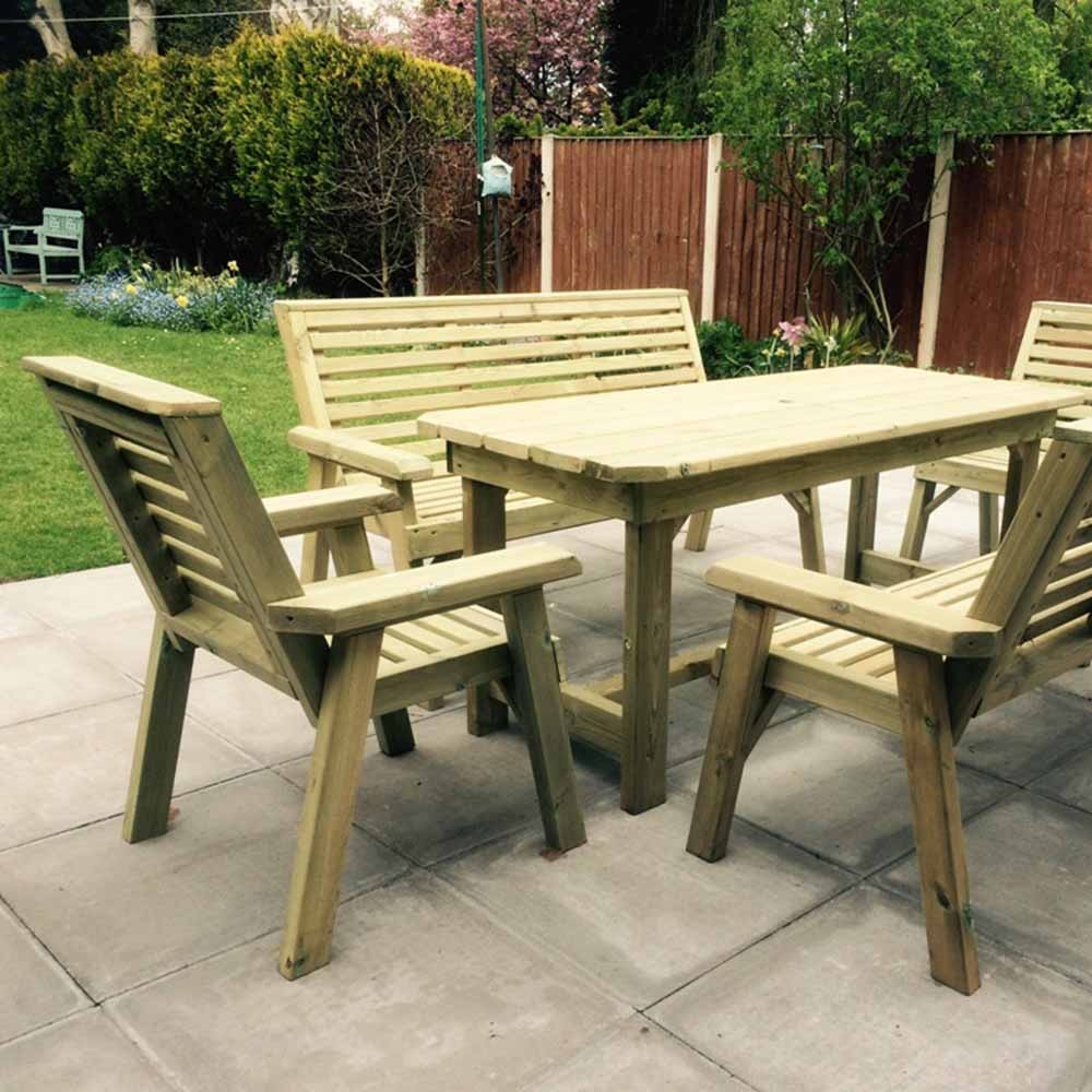 Churnet 8 Seater Table Set