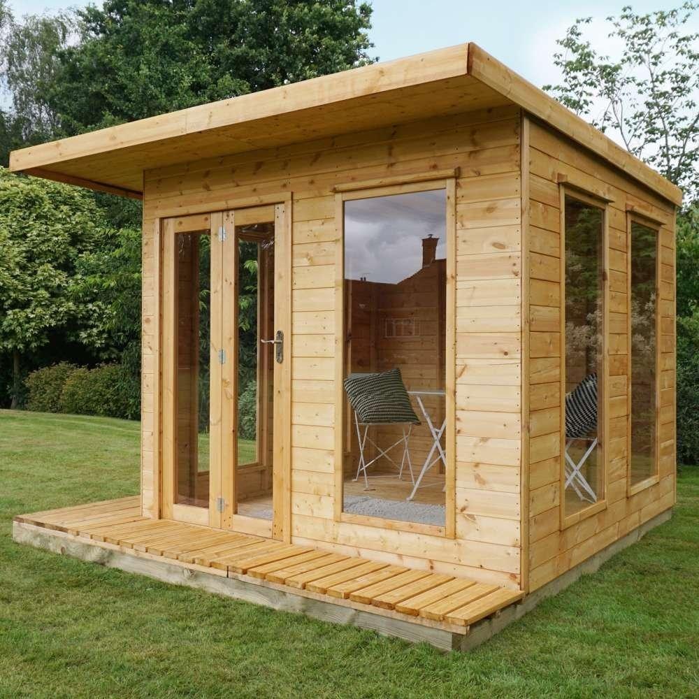 Image of 10' x 10' Premium Cube Summerhouse