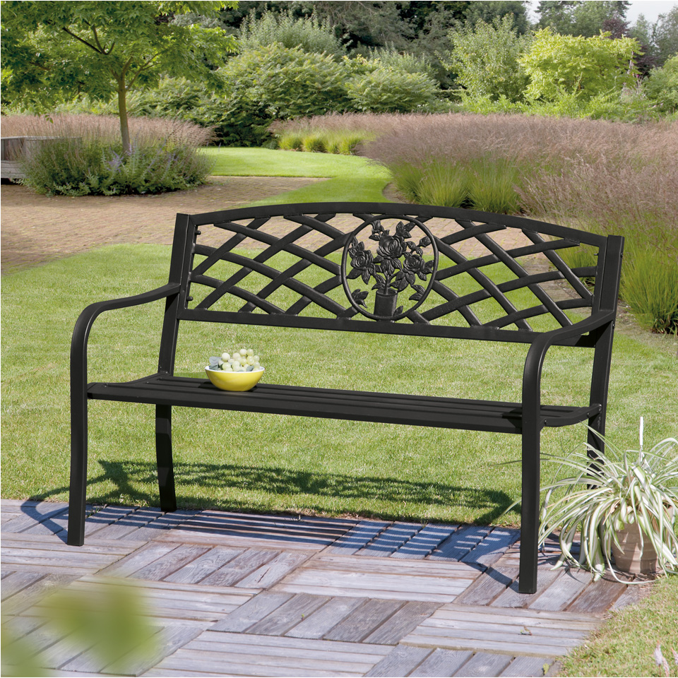 Lowthian Cast Iron Bench