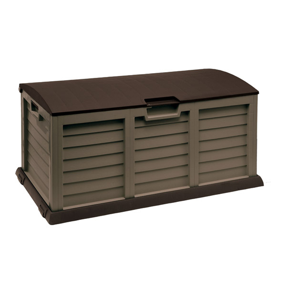 Large Mocha Garden Storage Box